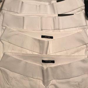 Apt 9 size 12 white capri